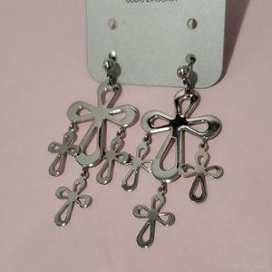 🌷3 for $20🌷cross earrings